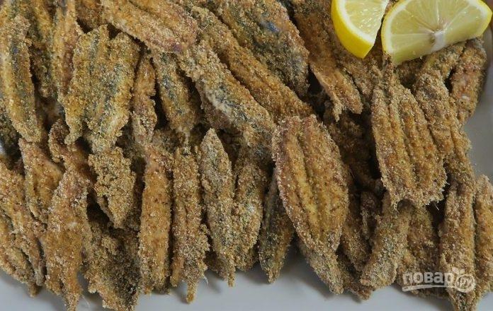 Хамса (рыба) в духовке