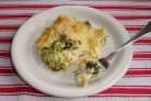 Лазанья с брокколи