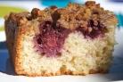 Ежевичный пирог с орехами