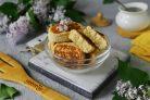 Творожное печенье на сковороде