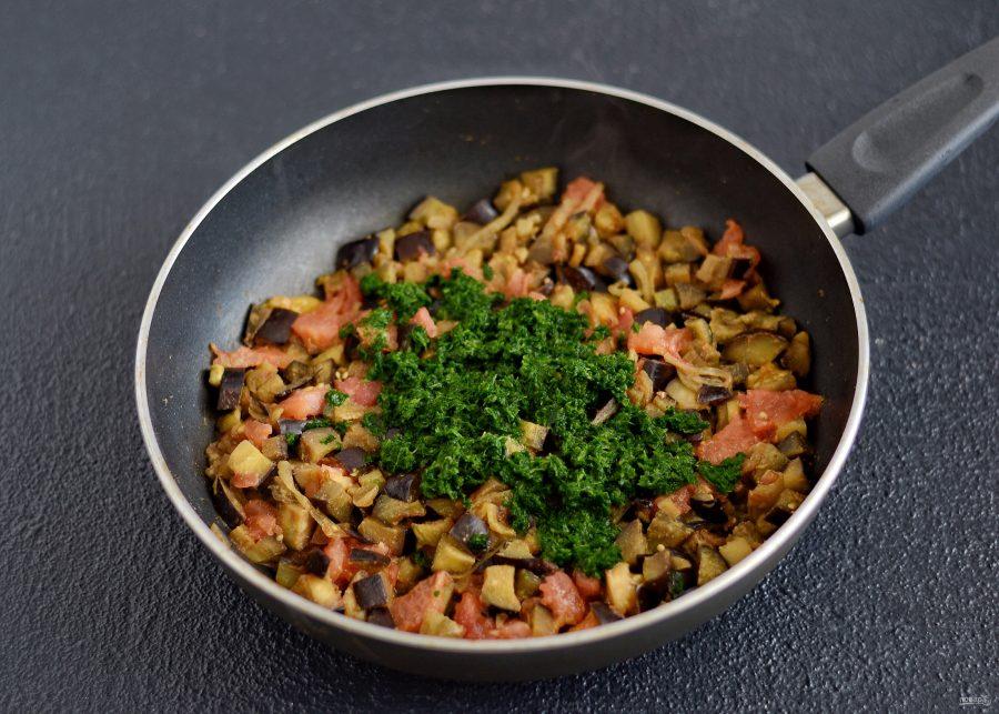 Приготовление закуски со шпинатом