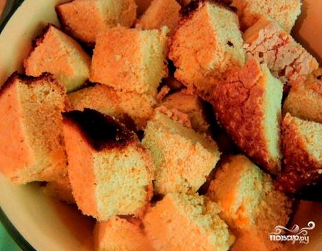 Вишневый бисквитный торт