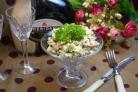 Оливье классический с колбасой