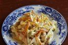 Салат с курицей и картошкой
