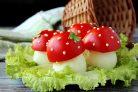 Фаршированные яйца Мухоморы