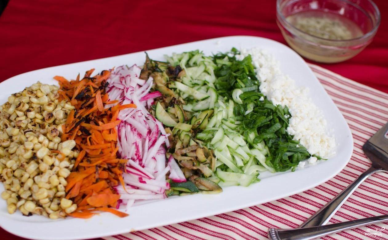 вегетарианские салаты