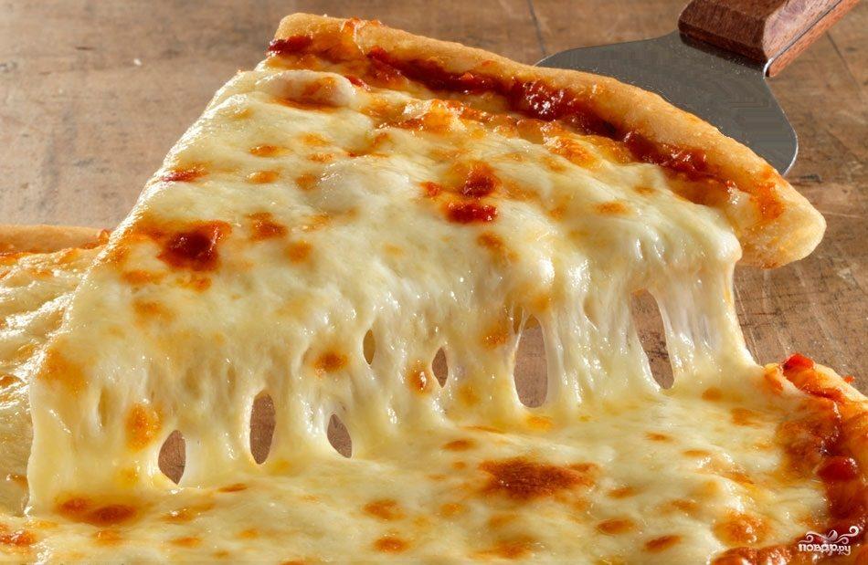 Рецепт Пицца с плавленным сыром