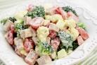 Cалат с брокколи и цветной капустой