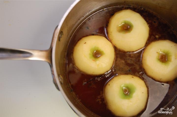 Яблочная карамель