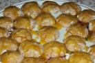 Глазурированное апельсиновое печенье