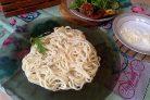 Спагетти с сыром и сливками