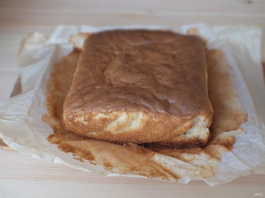 Кисельный бисквит