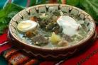 Вкуснейший суп из щавеля