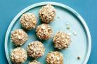 Рисово-миндальные шарики