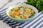 Рисовый суп без мяса