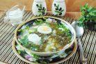 Холодный щавелевый суп
