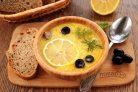 """Куриный суп """"Греческий"""""""