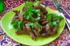 Мясо под соусом терияки