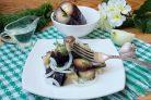 Соленые баклажаны, как грибы